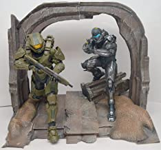 Xbox One Halo 5 Guardians Collector's Master Chief Spartan Locke Statues Figures Display ONLY, GAME NOT INCLUDED