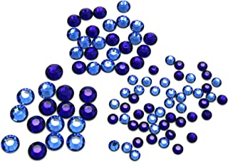Create Your Style with Swarovski Elements Hotfix Crystal Combo, Cobalt Sapphire