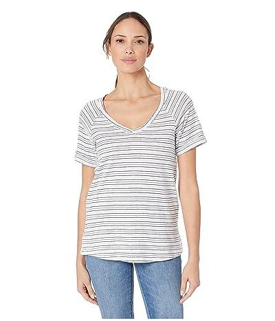 Columbia Summer Timetm T-Shirt II (White Stripe) Women