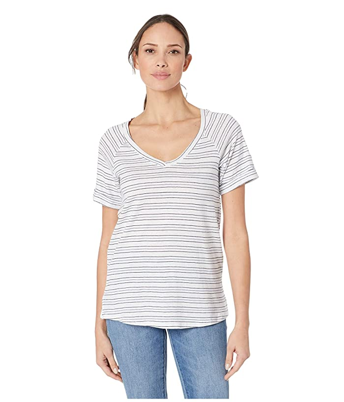 Columbia Summer Timetm T-Shirt II (White Stripe) Women