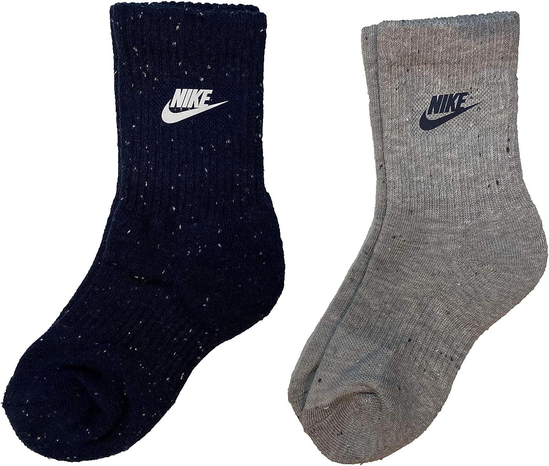 Nike Little Boys Cushioned Dri-FIT Crew Socks 2 Pack