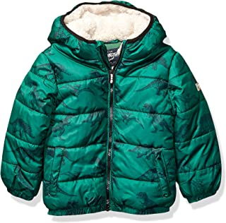 Boys' Big Heavyweight Winter Jacket with Sherpa Lining