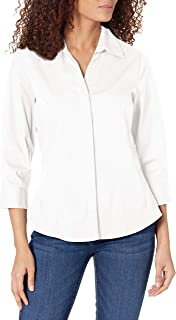 Riders by Lee Indigo Women's Easy Care ¾ Sleeve Woven Shirt