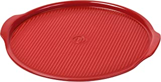 Emile Henry Made In France Flame Pizza Stone, 14.6 x 14.6