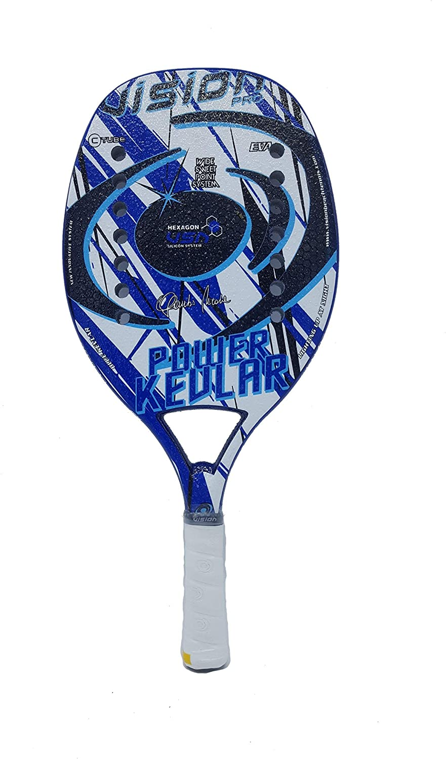 Vision Pro Racket Racquet Beach Tennis Power Kevlar 2019