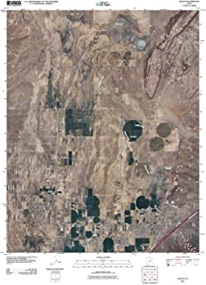Utah Maps - 2011 Enoch, UT USGS Historical Topographic - Cartography Wall Art - 44in x 55in
