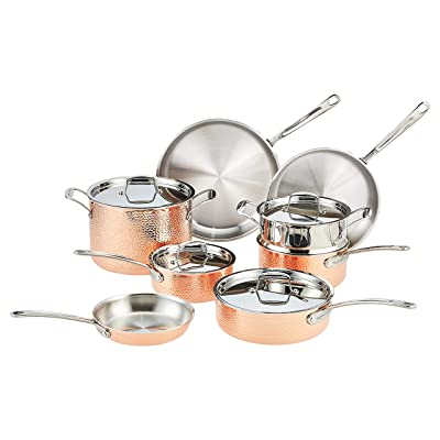Amazon Commercial Tri-Ply Copper Cookware - Best French Copper Cookware Review