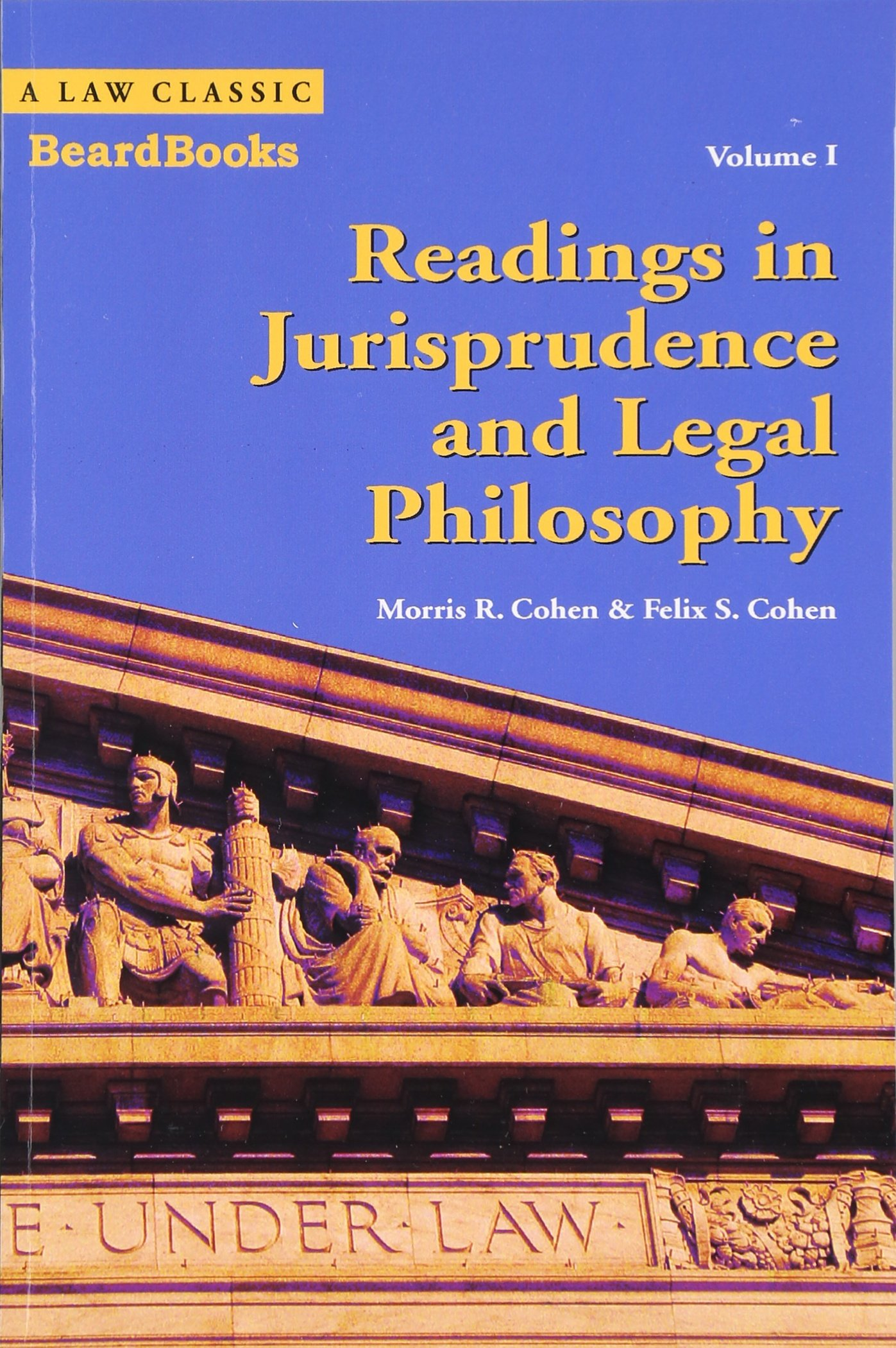 Image OfReadings In Jurisprudence And Legal Philosophy, Vol. 1