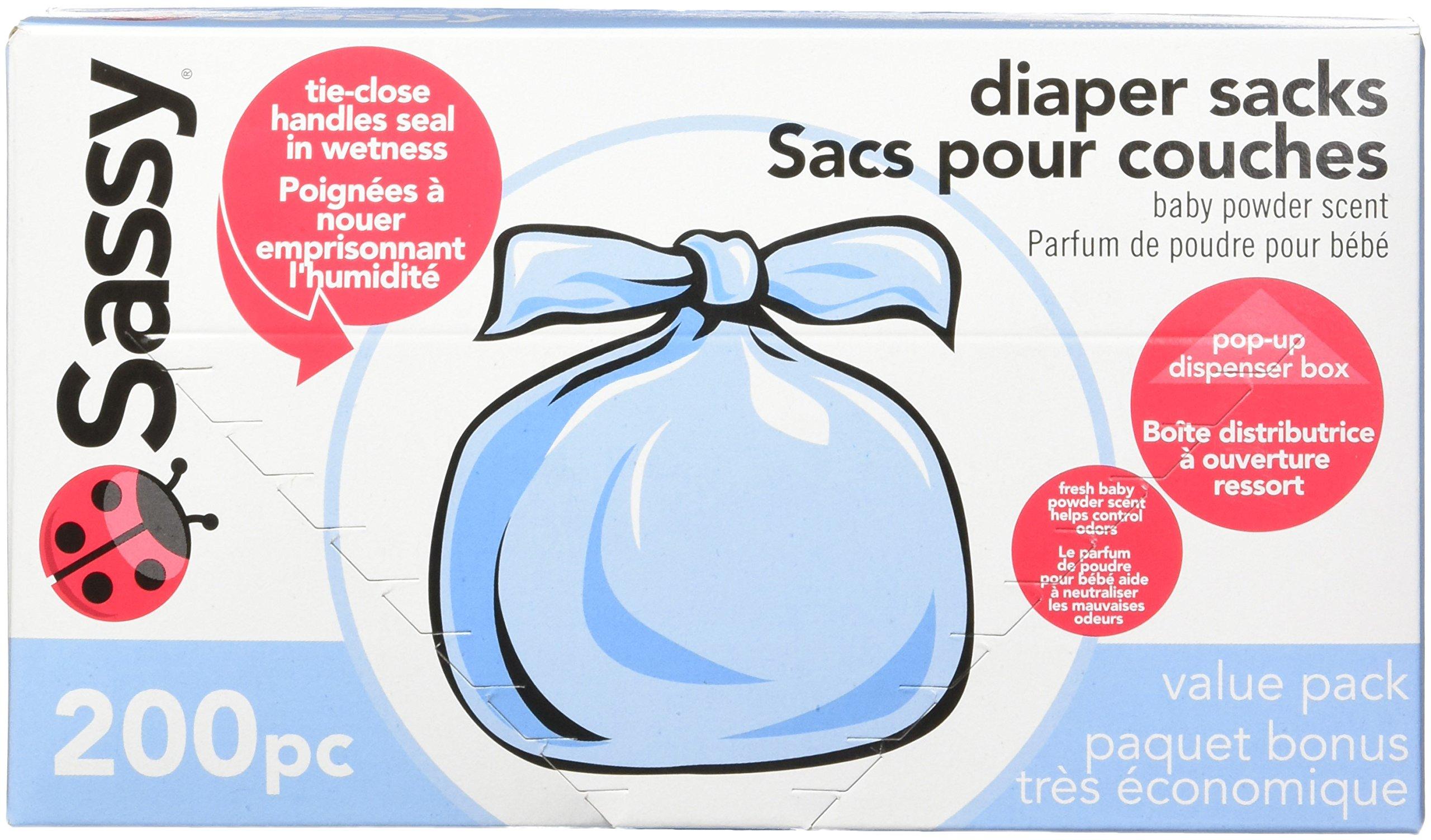 Sassy Disposable Diaper Sacks Count