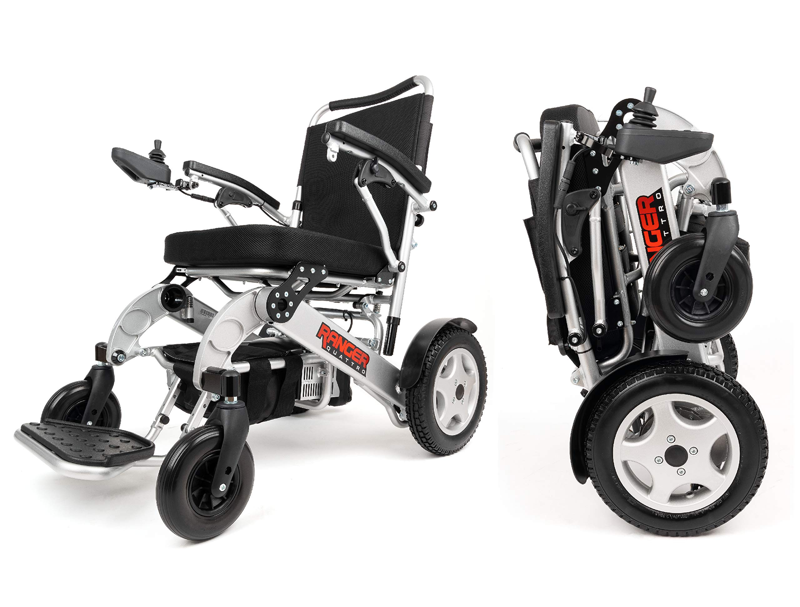 Mobility Exclusive Lightweight Wheelchair Motorized