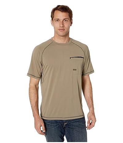 Ariat Rebar Sunstopper Short Sleeve Tee (Brindle) Men