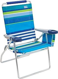 """Rio Beach 17"""" Extended Height 4 Position Folding Beach Chair"""
