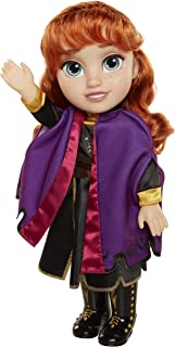 Disney Frozen 2 Anna Travel Doll - Features Violet Travel Cape Boots & Hairstyle - Ages 3+, 14 In