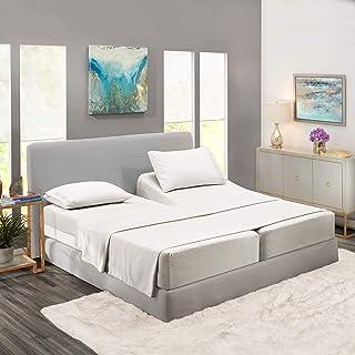 Nestl Bedding 5 Piece Sheet Set - 1800 Deep Pocket Bed Sheet Set - Hotel Luxury Double Brushed Microfiber Sheets - Deep Po...