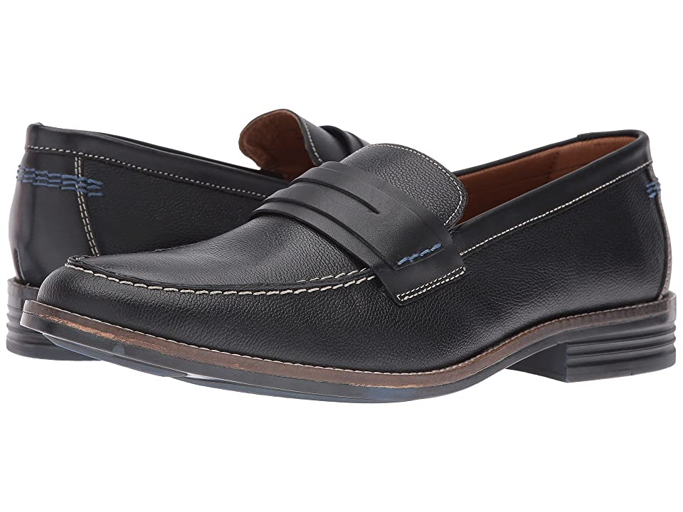 Hush Puppies Gallant Parkview (Black Leather) Men