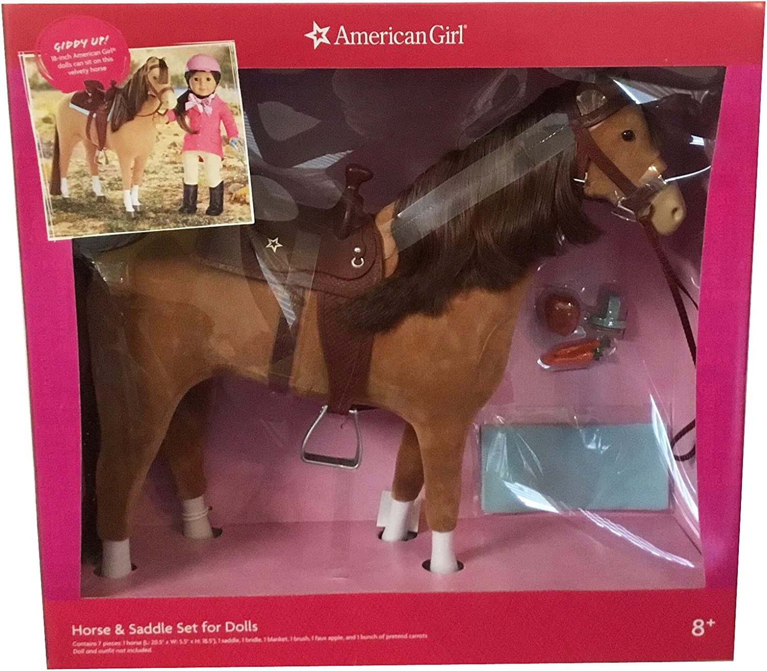 American Girl Horse and Saddle Set For Dolls by American Girl Horse and Saddle Set For Dolls