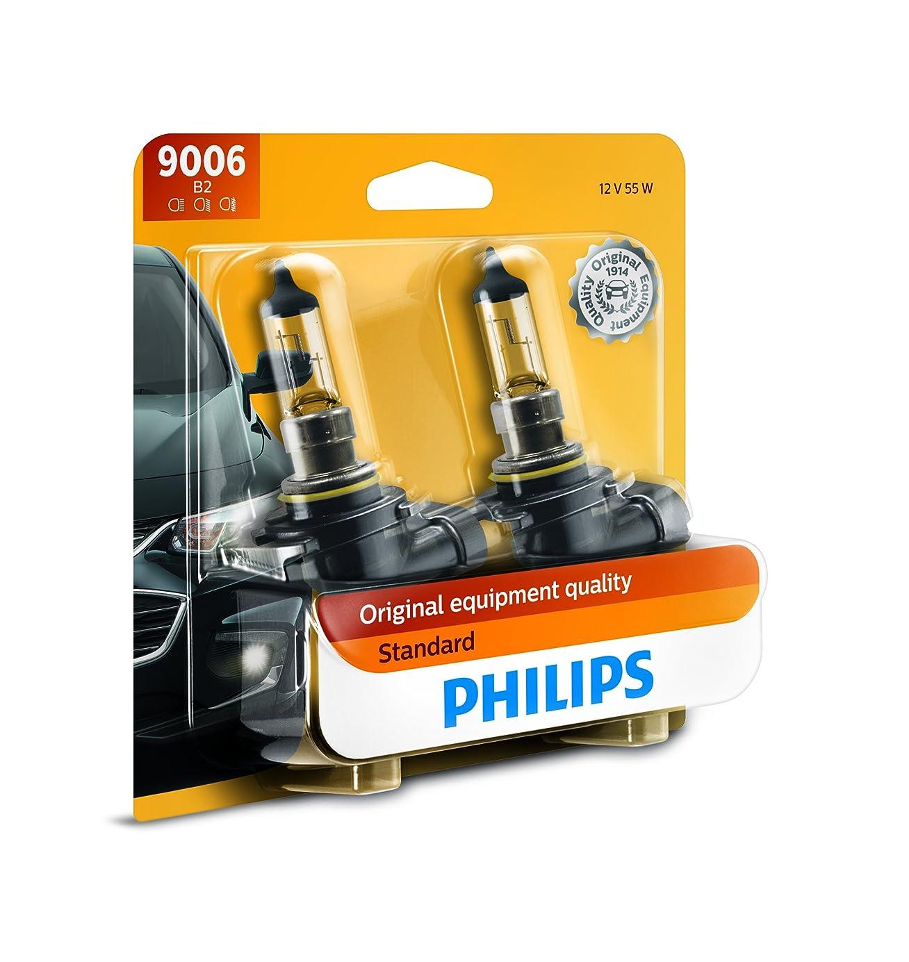 Philips 9006 Standard Halogen Replacement Headlight Bulb, 2 Pack dpqqoj6837