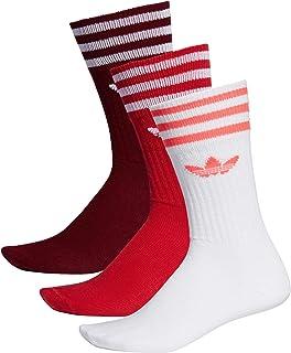 Solid Crew Sock 3 Pack Socks, Hombre