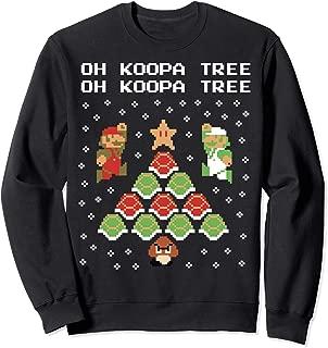 Koopa Tree Goomba Christmas Sweatshirt