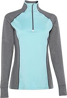 NOBLE OUTFITTERS Women's 1/4 Zip Fleece Lined Long Sleeve Top