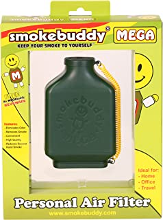 Smoke Buddy 0161-GRN Mega Personal Air Filter, Green