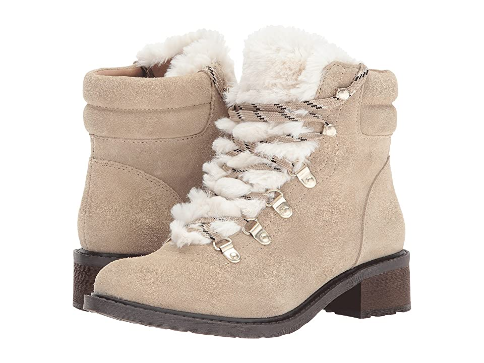 Sam Edelman Darrah 2 (Desert Sand/Off-White Velutto Suede Leather/Salomon Fur) Women