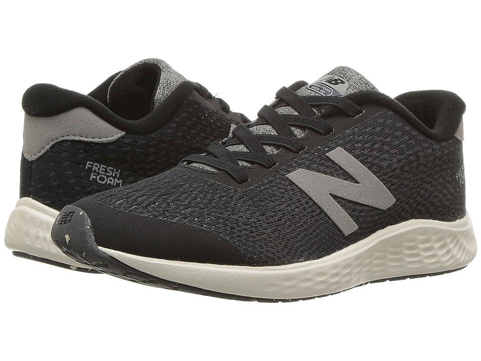 New Balance Kids KVARNv1Y (Little Kid/Big Kid) (Black/Magnet) Boys Shoes