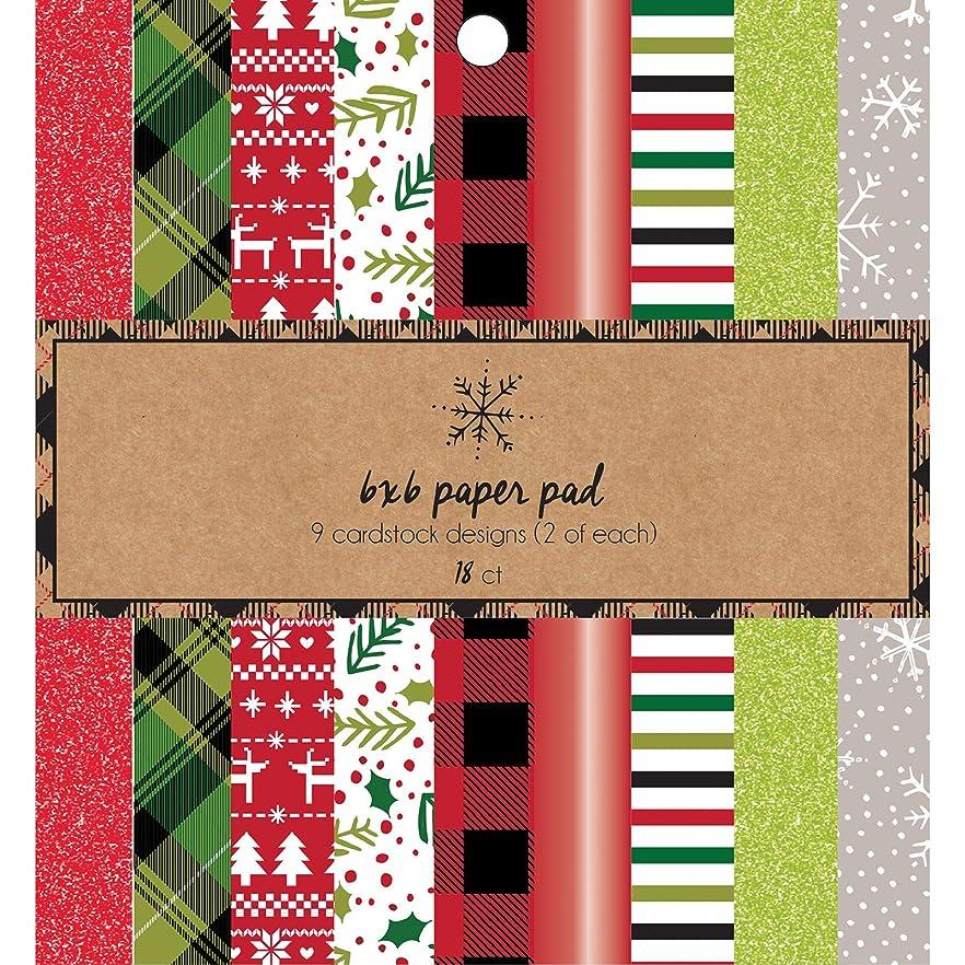 American Crafts 376676 Holiday Paper Pad Multicolor gxmyzburldzfo92