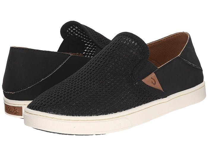 Pehuea  Shoes (Black/Black) Women's Slip on  Shoes