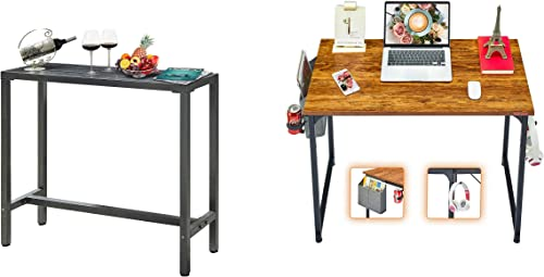 2021 Mr 2021 IRONSTONE outlet online sale Bar Table & Computer Desk online sale