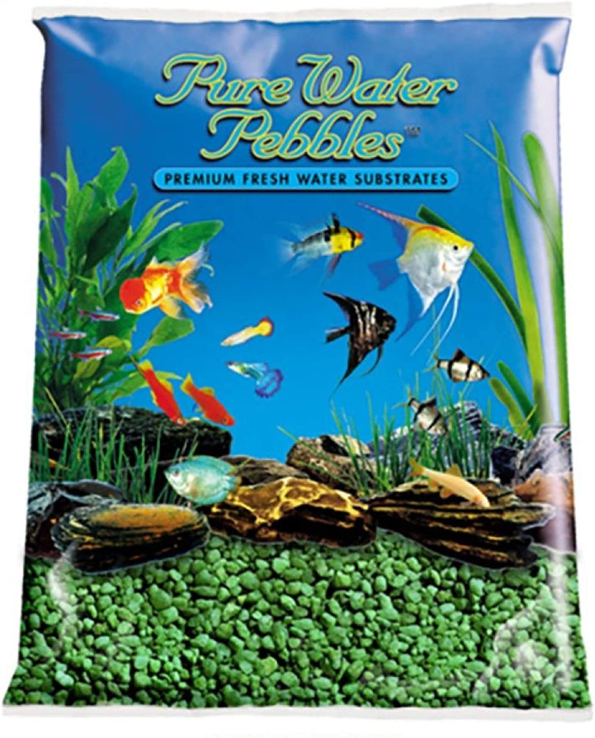 World Wide Imports Nature's Ocean Color Pure Max 75% OFF Emeral Selling Pebble Water