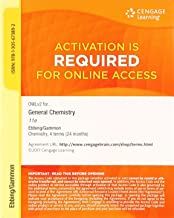 OWLv2, 4 terms (24 months) Printed Access Card for Ebbing/Gammon's General Chemistry, 11th