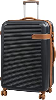 it luggage Valiant 8 Wheel Hard Shell Single Expander Cabin with TSA Lock Suitcase, 56 cm, 47 L, Dark Shadow