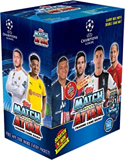 TOPPS India UEFA Champions League Trading Card Game 2019/20 Edition (Carry Box)