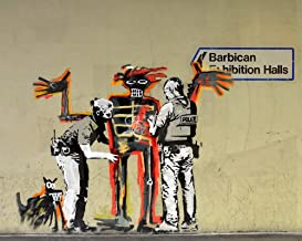 Banksy Graffiti Art, Banksy London Barbican Print, London Street Art, London Graffiti Art, Urban Wall Art, Street Wall Art