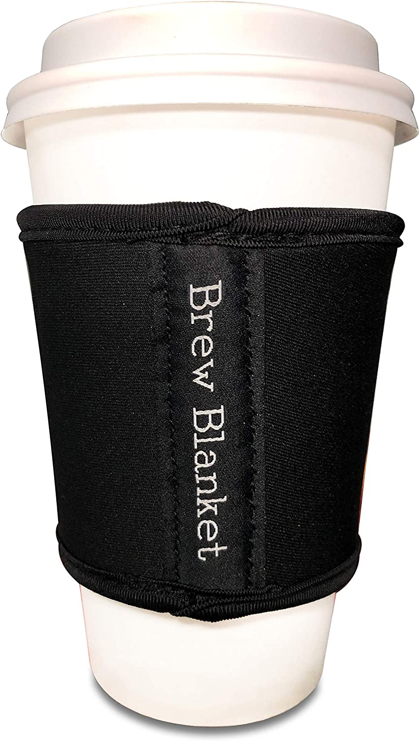 Insulated Drink Holder - Reusable Coffee Sleeve and Beer Pint Glass Sleeve - Neoprene Drink Insulator for Hot & Cold Beverages