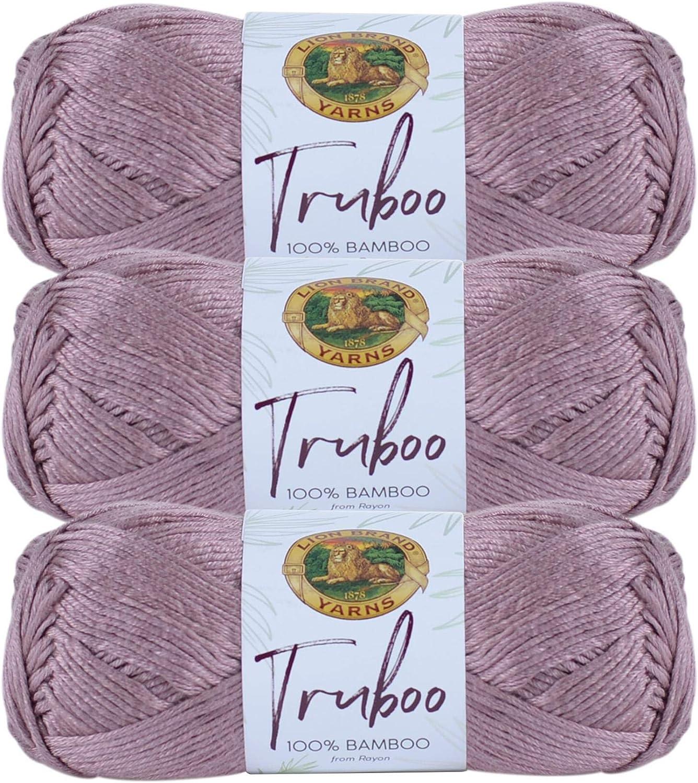 3 Pack Discount is also underway Lion Brand Yarn Truboo Mushroom 5% OFF