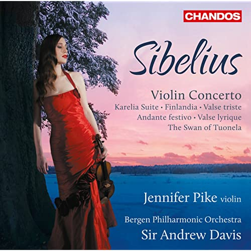 Sibelius: Violin Concerto - Karelia Suite by Jennifer Pike on ...