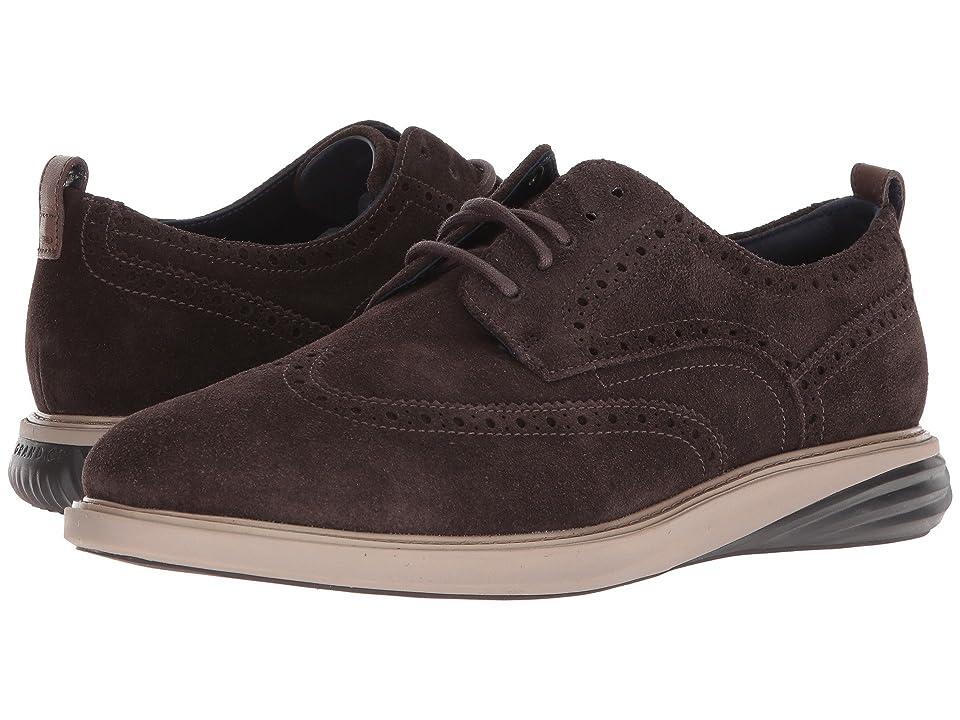 Cole Haan Grand Evolution Shortwing (Dark Taupe Leather/Cobblestone/Dark Roast) Men