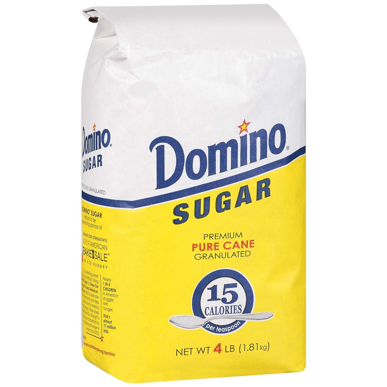 DOMINO GRANULATED PURE CANE WHITE SUGAR 4 Single PACK BAG Las Vegas Mall - LB Attention brand