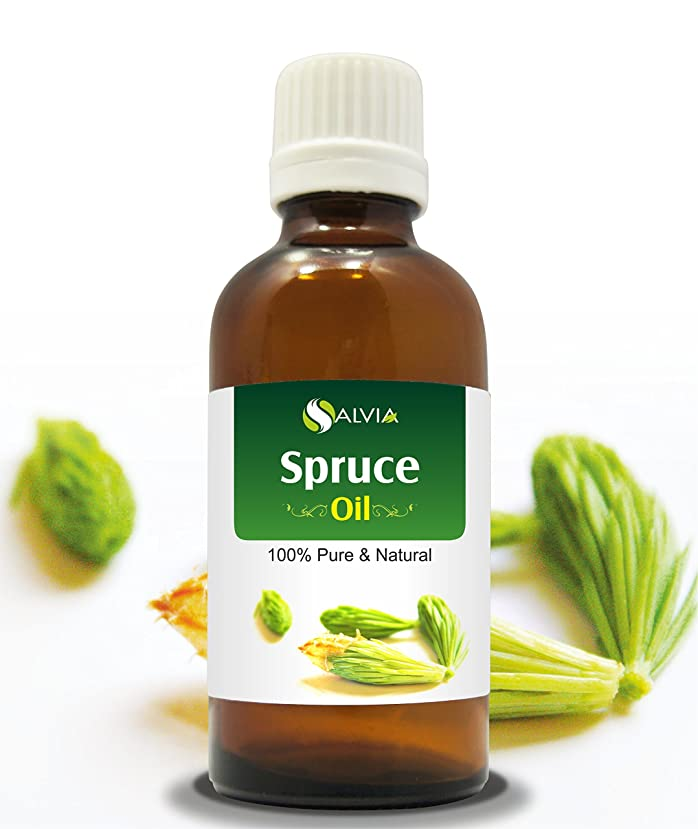 勧めるセメント特別なSPRUCE OIL 100% NATURAL PURE UNDILUTED UNCUT ESSENTIAL OIL 15ML