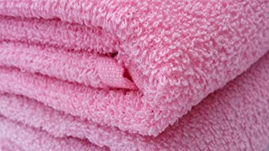SD enterprises Baby Light Pink Towel with 100% Cotton Extra Soft 30x60 inch