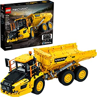LEGO Technic 6x6 Volvo Articulated Hauler (42114) Building Kit, Volvo Truck Toy Model for Kids Who Love Construction Vehic...