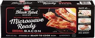 Hormel Black Label, Microwave Ready Bacon, 12 oz