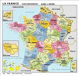 Cartina Francia Sud Dettagliata.Amazon It Cartina Stradale Francia