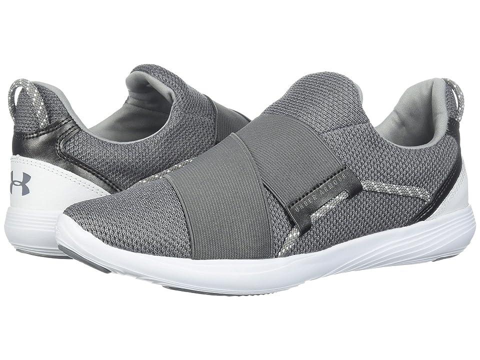 acfdd2b3c54e Under Armour UA Precision X (Zinc Gray White Zinc Gray) Women s Cross  Training Shoes
