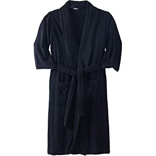 Image of Men's Big & Tall Bathrobe with Pockets - More Colors Available