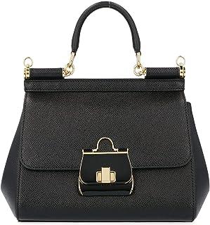 Luxury Fashion | Dolce E Gabbana Womens BB6003AK32580999 Black Handbag | Fall Winter 19