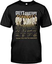 Thank You for The Memories 15th Anniversary Grey's Anatomy T Shirt