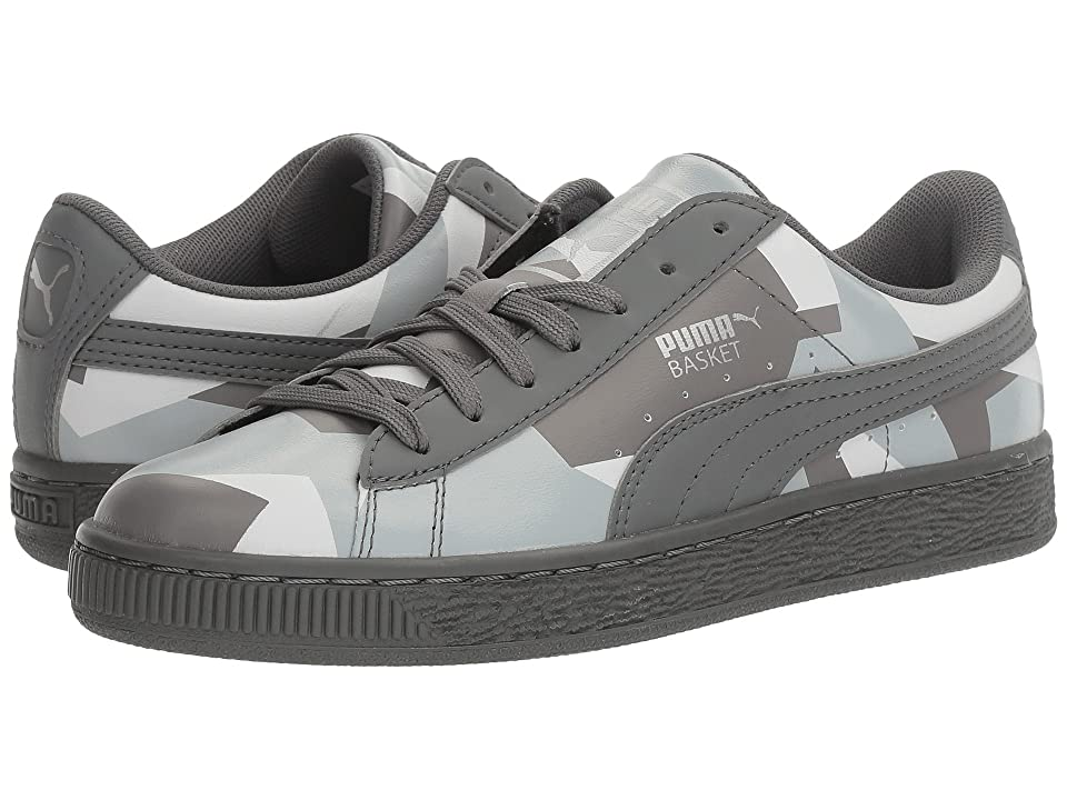 PUMA Basket Classic Graphic (Quiet Shade/Quarry/Puma White) Men